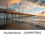 The Pier And Pacific Ocean At...