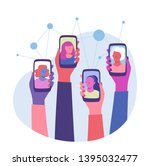 women connection. global... | Shutterstock .eps vector #1395032477