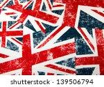 Union Jack Montage Background