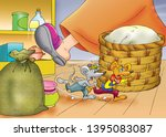 town mouse and country mouse | Shutterstock . vector #1395083087