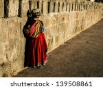 paruvian woman in traditional... | Shutterstock . vector #139508861