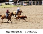 Team Roping Competition At A...