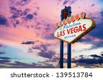 Welcome To Las Vegas Neon Sign...