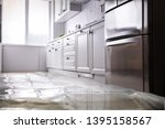 Close Up Of Flooded Floor In...