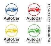 auto car logo template design   Shutterstock .eps vector #1395179771