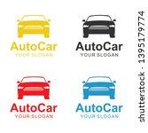 auto car logo template design   Shutterstock .eps vector #1395179774