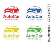 auto car logo template design   Shutterstock .eps vector #1395179777