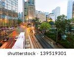 traffic in city at night   Shutterstock . vector #139519301