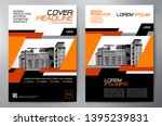 business brochure. flyer design.... | Shutterstock .eps vector #1395239831