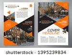 business brochure. flyer design.... | Shutterstock .eps vector #1395239834