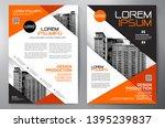 business brochure. flyer design.... | Shutterstock .eps vector #1395239837