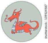 chinese zodiac animal vector... | Shutterstock .eps vector #139524587