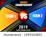 illustration of  cricket... | Shutterstock .eps vector #1395263831