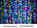 abstract bokeh light background ... | Shutterstock . vector #1395309467