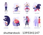 mental disorders. psychic... | Shutterstock .eps vector #1395341147