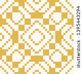 raster geometric traditional... | Shutterstock . vector #1395443294