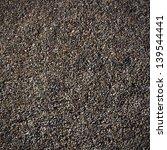 Pattern Of Dark Gravel Surface