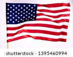 american flag background for... | Shutterstock . vector #1395460994