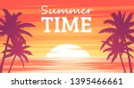 Summer Tropical Background....