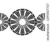 polka dot seamless pattern.... | Shutterstock .eps vector #1395507737