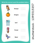 write the correct word the...   Shutterstock .eps vector #1395515357