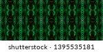 watercolor pattern. black ...   Shutterstock . vector #1395535181