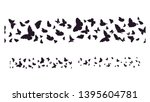 set of butterflies  ink... | Shutterstock .eps vector #1395604781
