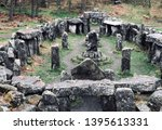 Druid Temple Stone Circle In...