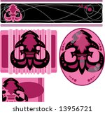 Pink Business Letterhead Card...
