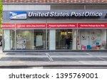 new york  ny  usa   may 8  2019 ... | Shutterstock . vector #1395769001