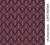 seamless pattern in classic...   Shutterstock .eps vector #1395780584