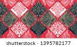 seamless pattern based on... | Shutterstock .eps vector #1395782177