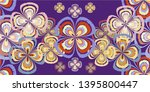 seamless creative background in ... | Shutterstock .eps vector #1395800447