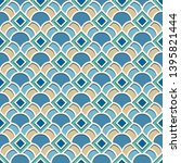 abstract geometric pattern in...   Shutterstock .eps vector #1395821444