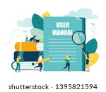 vector illustration  document... | Shutterstock .eps vector #1395821594