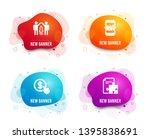 liquid badges. set of buy... | Shutterstock .eps vector #1395838691