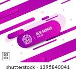 metro subway transport line... | Shutterstock .eps vector #1395840041