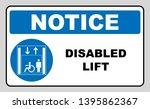 passengers elevator sign. lift  ... | Shutterstock . vector #1395862367