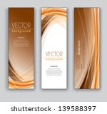 abstract vector banners. set of ... | Shutterstock .eps vector #139588397