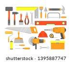 vector illustration set of... | Shutterstock .eps vector #1395887747