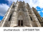 the famous gothic cathedral of... | Shutterstock . vector #1395889784