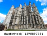 the famous gothic cathedral of... | Shutterstock . vector #1395893951
