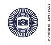 blue photo camera icon inside... | Shutterstock .eps vector #1395914231