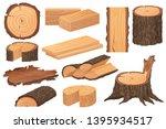 wood industry raw materials.... | Shutterstock .eps vector #1395934517
