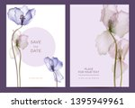 modern invitation card template ... | Shutterstock .eps vector #1395949961