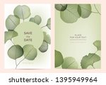 summer background with abstract ... | Shutterstock .eps vector #1395949964