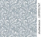 floral seamless pattern with... | Shutterstock .eps vector #1395951767