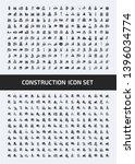 construction vector icon set... | Shutterstock .eps vector #1396034774