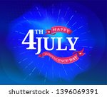 4th of july independence day... | Shutterstock .eps vector #1396069391