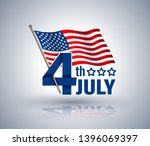 4th of july independence day... | Shutterstock .eps vector #1396069397